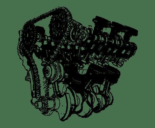 Zeichnung Motor